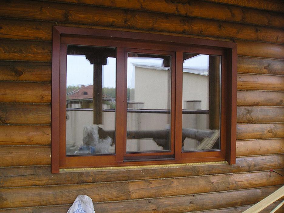 Окна из деревянные под евро своими руками 2